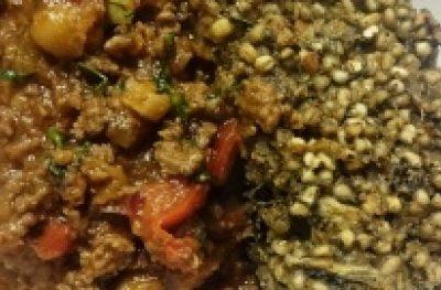 Jesienne chilli con carne – czyli mięso dla faceta z pasztetem z kaszy jęczmiennej
