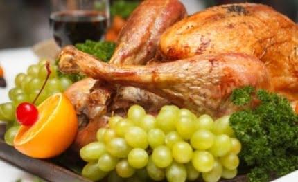 Kurczak faszerowany kaszą jęczmienną